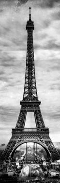 Instants of Paris B&W Series - Eiffel Tower, Paris, France by Philippe Hugonnard