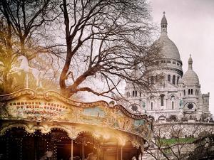 Instants of Series - Sacre-Cœur Basilica - Paris, France by Philippe Hugonnard