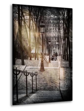 Instants of Series - Steps up to Montmartre - Paris, France by Philippe Hugonnard