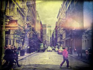 Instants of Series -Urban Scene Soho - 1 WTC View - Manhattan - New York City - United States - USA by Philippe Hugonnard