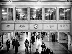 Interior Corridors with an Original Skylight in the Grand Central Terminal - Manhattan - New York by Philippe Hugonnard