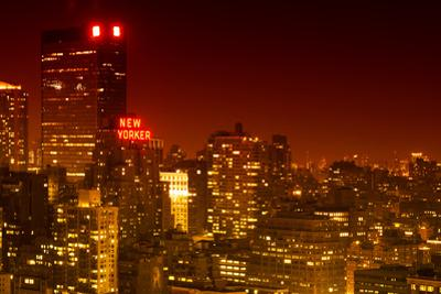 Landscape - The New Yorker - Manhattan by Night - New York City - United States by Philippe Hugonnard