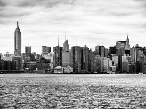 Landscape View Manhattan with the Empire State Building and Chrysler Building - NYC by Philippe Hugonnard