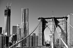 Landscapes - Brooklyn Bridge - New York - United States by Philippe Hugonnard