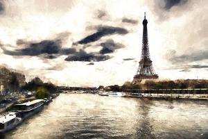 Lanscape Paris Eiffel by Philippe Hugonnard