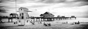 Life Guard Station - Florida Beach by Philippe Hugonnard