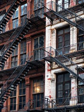 Lifestyle Instant, Fire Staircase, Manhattan, New York City, United States by Philippe Hugonnard