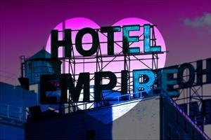 Love NY Series - Hotel Empire Sign - Manhattan - New York City - USA by Philippe Hugonnard