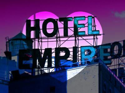 Love NY Series - Hotel Empire Sign - Manhattan - New York City - USA by Philippe Hugonnard