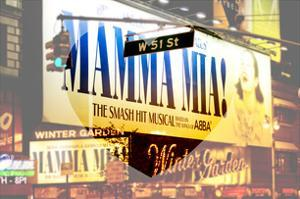 Love NY Series - Mamma Mia The Musical - Winter Garden Theatre - Manhattan - New York - USA by Philippe Hugonnard