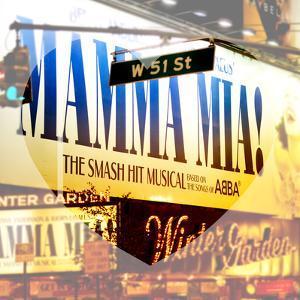 Love NY Series - Mamma Mia The Musical - Winter Garden Theatre - Manhattan - New York - USA by Philippe Hugonnard