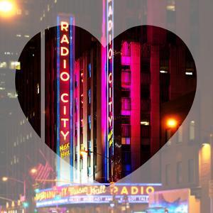 Love NY Series - The Radio City Music Hall at Night - Manhattan - New York - USA by Philippe Hugonnard