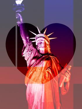 Love NY Series - The Statue of Liberty - Manhattan - New York - USA by Philippe Hugonnard