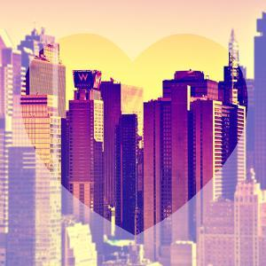 Love NY Series - Times Square Buildings - Manhattan - New York City - USA by Philippe Hugonnard
