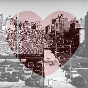 Love NY Series - Urban Scene in Chelsea - Manhattan - New York - USA - B&W Photography by Philippe Hugonnard