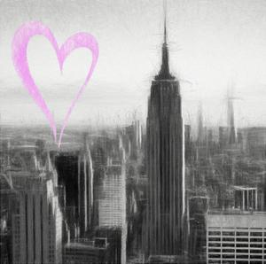 Luv Collection - New York City - Downtown City II by Philippe Hugonnard