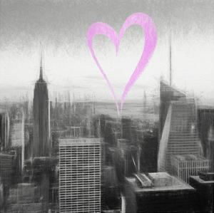 Luv Collection - New York City - Downtown City IV by Philippe Hugonnard
