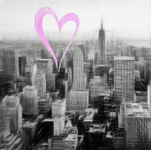 Luv Collection - New York City - Downtown City VI by Philippe Hugonnard