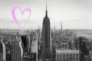 Luv Collection - New York City - Downtown City by Philippe Hugonnard
