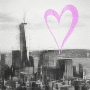 Luv Collection - New York City - Downtown Manhattan II by Philippe Hugonnard