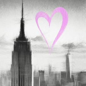 Luv Collection - New York City - Empire State Building II by Philippe Hugonnard