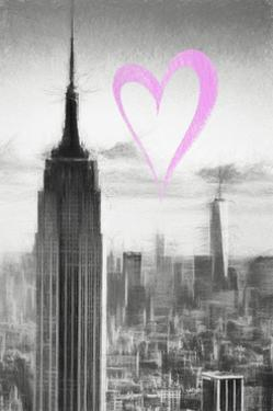 Luv Collection - New York City - Empire State Building by Philippe Hugonnard