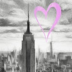 Luv Collection - New York City - Manhattan Skyscrapers II by Philippe Hugonnard