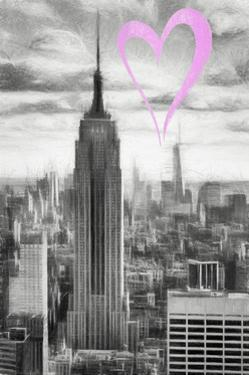 Luv Collection - New York City - Manhattan Skyscrapers by Philippe Hugonnard