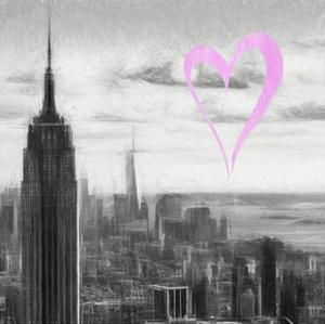 Luv Collection - New York City - NY Skyline II by Philippe Hugonnard