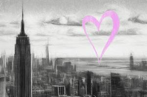 Luv Collection - New York City - NY Skyline by Philippe Hugonnard