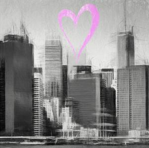Luv Collection - New York City - Skyscrapers II by Philippe Hugonnard