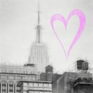 Luv Collection - New York City - The Empire State Building III by Philippe Hugonnard
