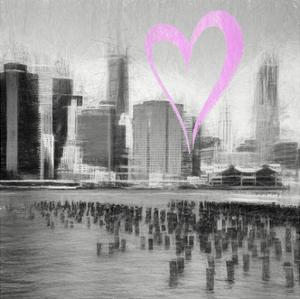 Luv Collection - New York City - The Skyline II by Philippe Hugonnard