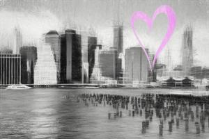 Luv Collection - New York City - The Skyline by Philippe Hugonnard