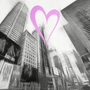 Luv Collection - New York City - Times Square III by Philippe Hugonnard