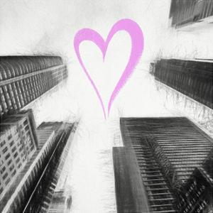 Luv Collection - New York City - Times Square Skyscrapers II by Philippe Hugonnard