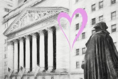 Luv Collection - New York City - Wall Street by Philippe Hugonnard