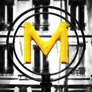 M Paris Metro by Philippe Hugonnard