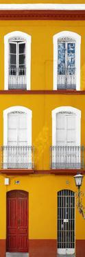 Made in Spain Slim Collection - Orange Facade of Traditional Spanish Building II by Philippe Hugonnard