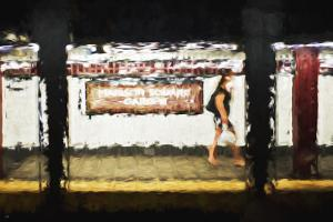 Madison Square Garden - In the Style of Oil Painting by Philippe Hugonnard