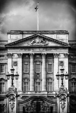 Main Gates at Buckingham Palace - London - UK - England - United Kingdom - Europe by Philippe Hugonnard