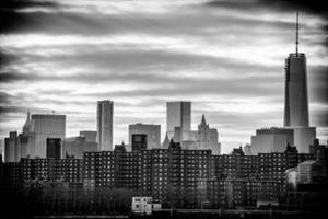 Manhattan and One World Trade Center at Sunset by Philippe Hugonnard