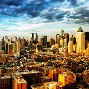 Manhattan at Sunset, Hell's Kitchen and Theater District Views, New York by Philippe Hugonnard