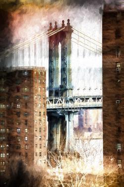 Manhattan Bridge by Philippe Hugonnard