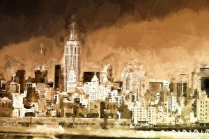 Manhattan Brown Shade by Philippe Hugonnard