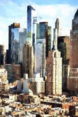 Manhattan Buildings by Philippe Hugonnard