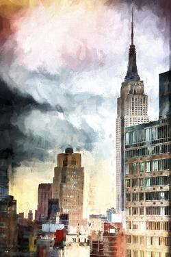 Manhattan in the late Afternoon by Philippe Hugonnard