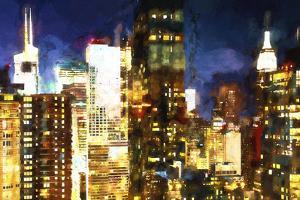Manhattan Night II by Philippe Hugonnard