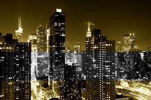 Manhattan Night by Philippe Hugonnard