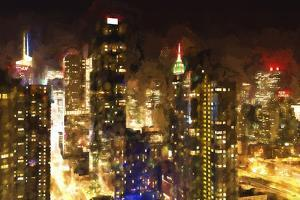 Manhattan Night by Philippe Hugonnard